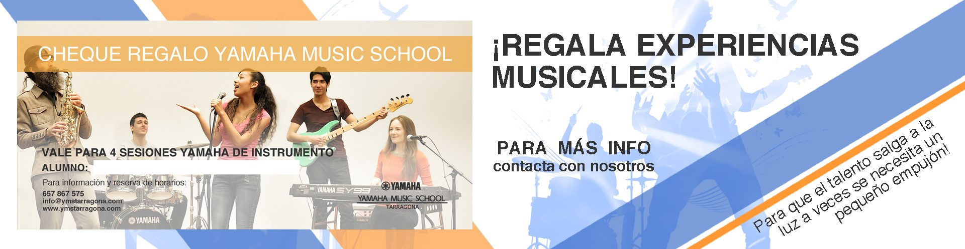 M s instrumentos junior yamaha music school tarragona for Yamaha music school los angeles
