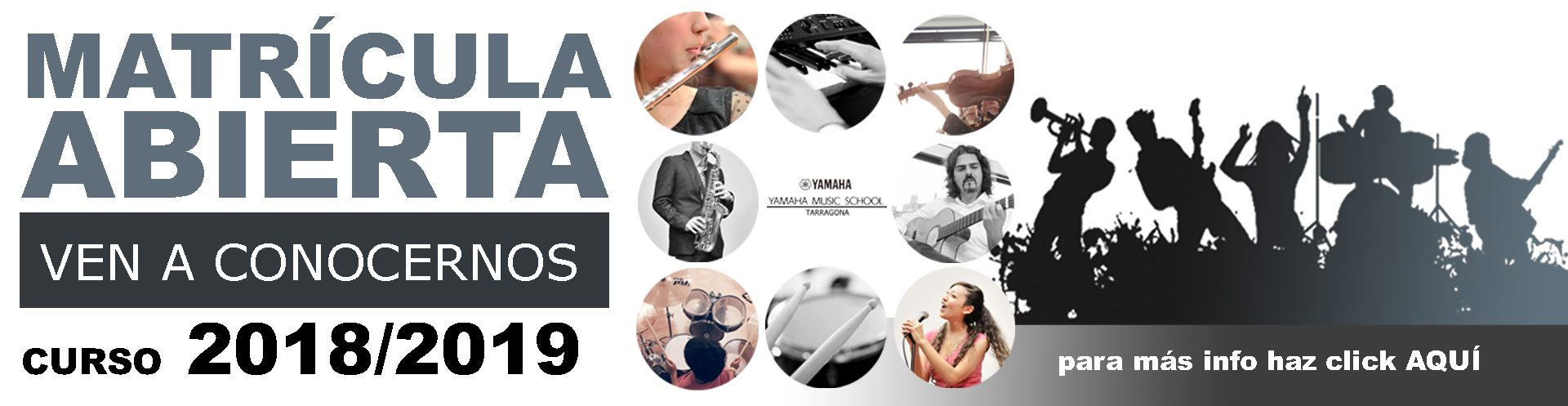 M s instrumentos j venes y adultos yamaha music school for Yamaha music school los angeles